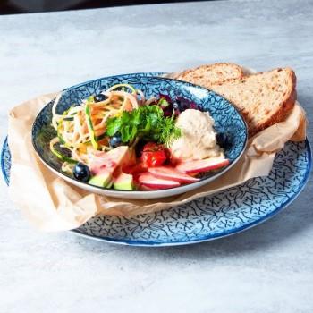 Salat bei Hitze